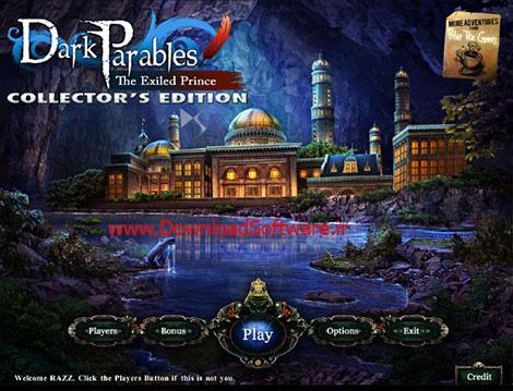 دانلود بازی Dark Parables: The Exiled Prince CE برای PC