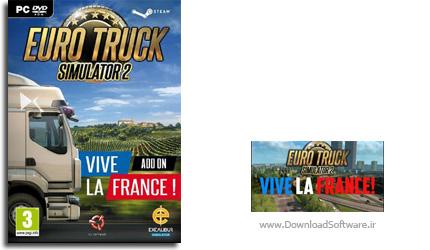 دانلود بازی Euro Truck Simulator 2 Vive la France برای PC
