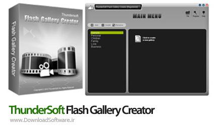 دانلود ThunderSoft Flash Gallery Creator نرم افزار ساخت گالری فلش