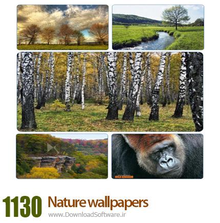دانلود مجموعه ۱۱۳۰ والپیپر زیبا از طبیعت
