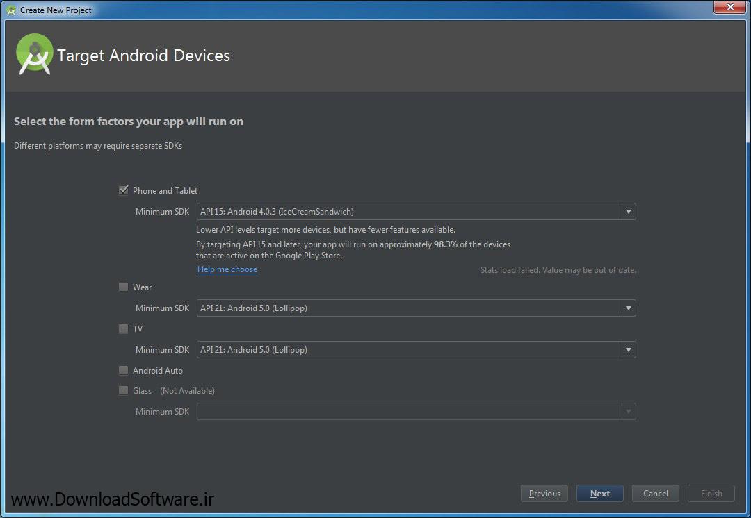 آموزش برنامه نویسی اندروید با نرم افزار Android Studio – مخصوص مبتدیان