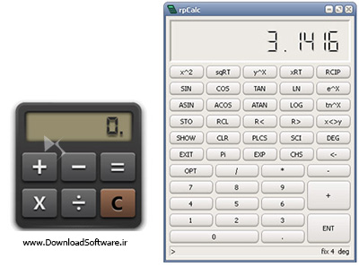 دانلود rpCalc 0.8.0 + Portable – ماشین حساب پیشرفته برای ویندوز