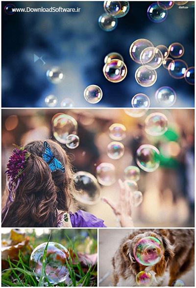 دانلود ۶۰ والپیپر زیبا از حباب Bubble Wallpaper