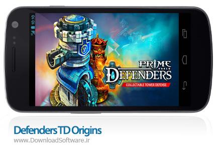 دانلود بازی Defenders TD Origins 1.8.62523 – مدافعان برای اندروید + دیتا