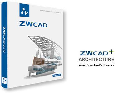 دانلود ZWCAD Architecture 2017 2016.09.30 – نرم افزار طراحی برای معماری