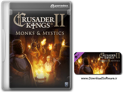 دانلود بازی Crusader Kings II Monks and Mystics برای PC