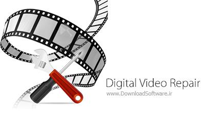 دانلود Digital Video Repair + Portable – نرم افزار تعمیر فایل های ویدیویی