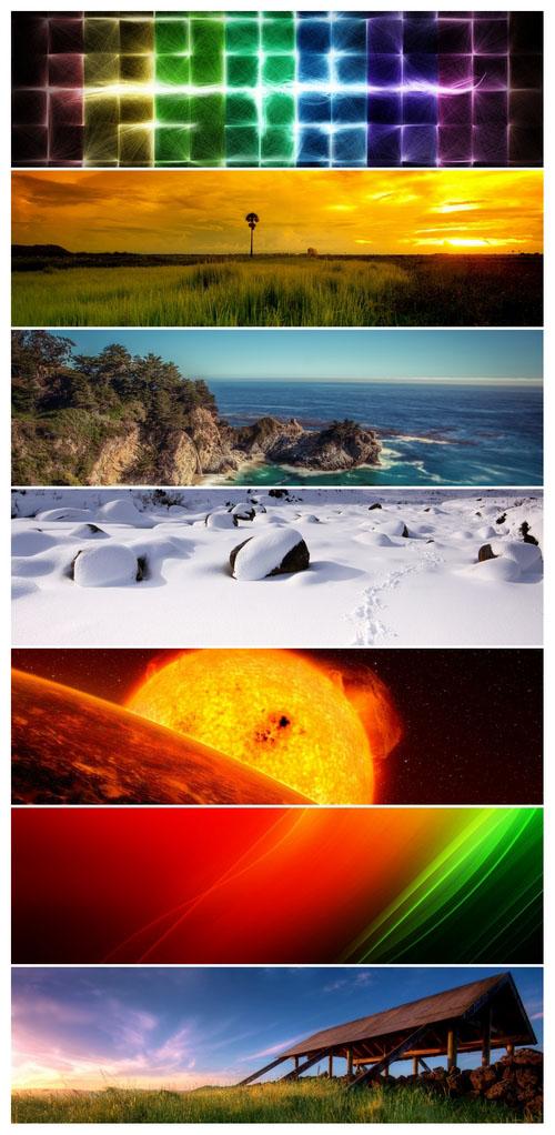 دانلود تصاویر والپیپر میکس Mixed Panoramics Wallpaper Pack 16