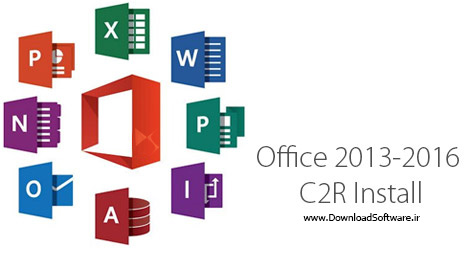 دانلود برنامه نصب آنلاین محصولات آفیس Office 2013-2016 C2R Install