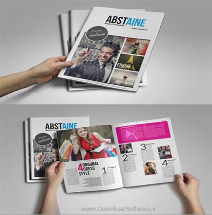 دانلود تمپلیت مجله ها Absolute Stylish Magazine Template