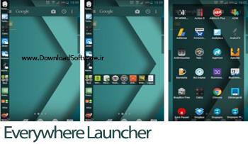 دانلود Everywhere Launcher لانچر زیبا برای گوشی اندروید