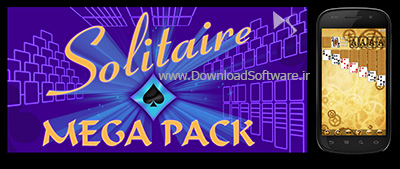 دانلود Solitaire MegaPack بازی کارت ها برای اندروید