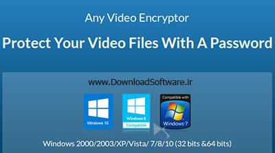 دانلود Any Video Encryptor نرم افزار رمزگذاری تمام مالتی مدیا