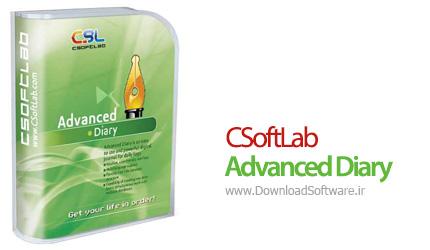 دانلود CSoftLab Advanced Diary نرم افزار دفترچه یادداشت