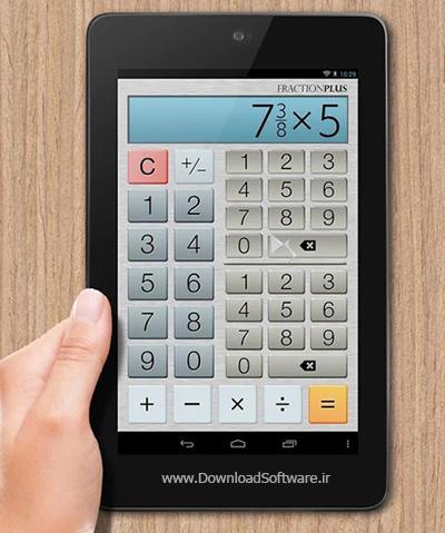 دانلود Fraction Calculator Plus برنامه ماشین حساب کسر اندروید