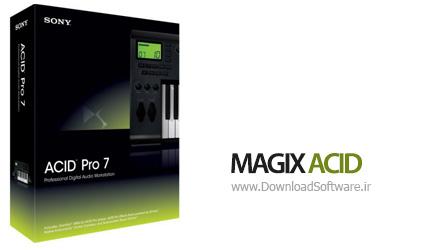 دانلود MAGIX ACID Pro 7.0 Build 746 نرم افزار ایجاد موسیقی حرفه ای