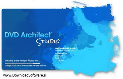 دانلود MAGIX DVD Architect Studio - نرم افزار طراحی منوی DVD