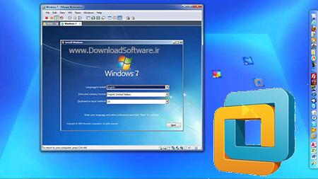 فیلم آموزش Vmware Workstation برای نصب ویندوز ۷