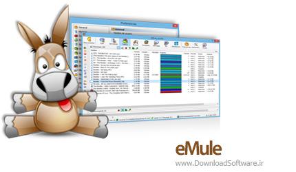 دانلود eMule نرم افزار جستجو فایل های شبکه ها