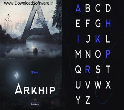 دانلود فونت انگلیسی Arkhip Sans
