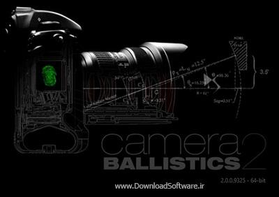 دانلود Camera Ballistics x64 نمایش مشخصات دوربین در عکس