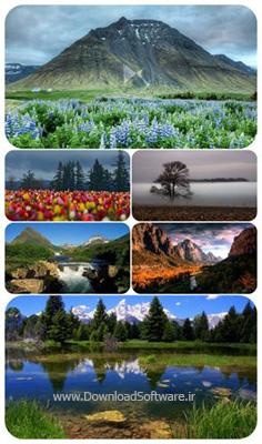 دانلود 62 تصویر والپیپر پس زمینه با موضوع طبیعت