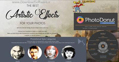 دانلود PhotoDonut نرم افزار تبدیل عکس به نقاشی هنری