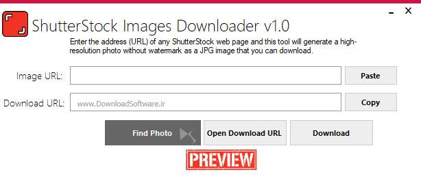 دانلود ShutterStock Images Downloader نرم افزار دریافت تصاویر شاتراستوک