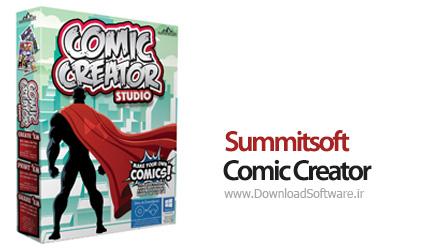 دانلود Summitsoft Comic Creator - نرم افزار طراحی کارتون، کمیک استریپ و مانگا