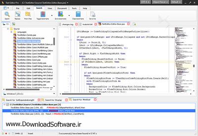 دانلود Text Editor Pro نرم افزار ویرایشگر متن