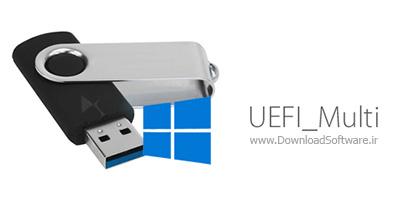 دانلود UEFI_Multi – نرم افزار ساخت فلش مموری بوتیبل