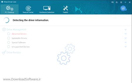 دانلود Wise Driver Care نرم افزار به روزرسانی سخت افزار کامپیوتر