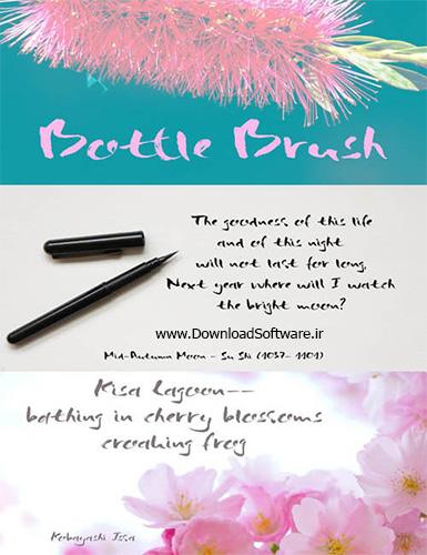 دانلود فونت انگلیسی Bottle Brush