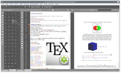 دانلود Texmaker x64 نرم افزار ویرایشگر و ساخت tex