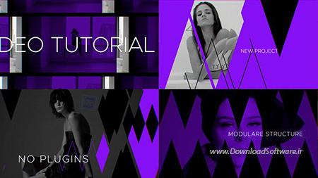 دانلود پروژه افترافکت بنام Fashion Broadcast Youtube Package