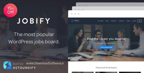 دانلود تم وردپرس ThemeForest - Jobify v3.8.0 - The Most Popular WordPress Job Board Theme