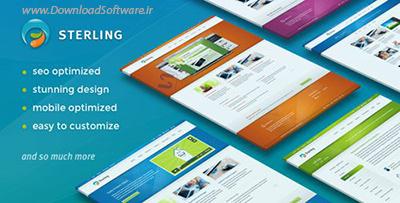دانلود تم وردپرس ThemeForest - Sterling v2.6.6 - Responsive WordPress Theme
