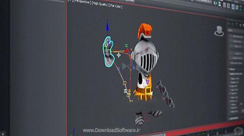 دانلود فیلم آموزشی مبانی انیمیشن 3ds Max