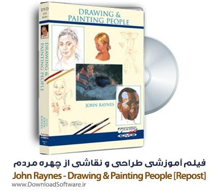 فیلم آموزشی طراحی و نقاشی از چهره مردم توسط John Raynes