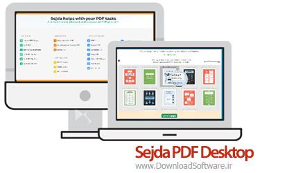 دانلود Sejda PDF Desktop نرم افزار کار با فایل های PDF