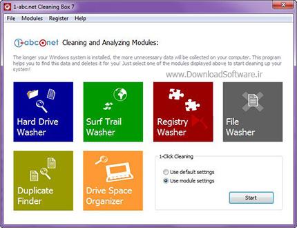 دانلود 1abc.net Cleaning Box نرم افزار جعبه پاکسازی ویندوز