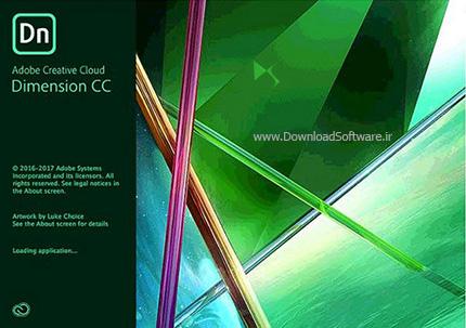 دانلود Adobe Dimension CC 2018 نرم افزار ادوبی دایمنشن سی سی