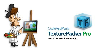 دانلود CodeAndWeb TexturePacker Pro - ساخت مجموعه تصاویر انیمیشنی و sprite sheet