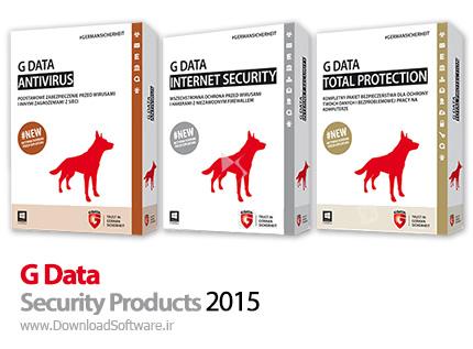 دانلود G Data AntiVirus + Internet Security + Total Protection - نرم افزار آنتی ویروس، فایروال و ضد جاسوسی جی دیتا