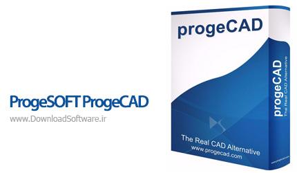 دانلود ProgeSOFT ProgeCAD 2018 Pro نرم افزار حرفه ای مهندسی و نقشه کشی