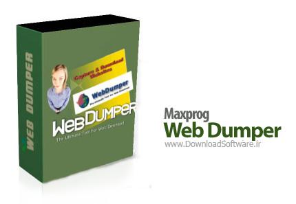 دانلود Maxprog Web Dumper - نرم افزار ذخیره و بازدید Offline صفحات اینترنت