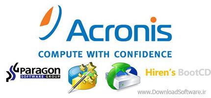 دانلود نرم افزار تهیه نسخه پشتیبانی Acronis 2k10 UltraPack