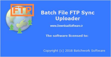 َدانلود Batch File FTP Sync Uploader