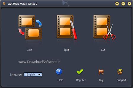 دانلود AVCWare Video Editor