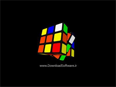 دانلود اسکرین سیور مکعب روبیک zzRubik Screensaver برای ویندوز